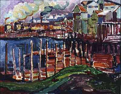 Emily Carr, Sawmills, Vancouver Fine Art Reproduction Oil Painting