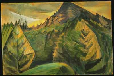 Emily Carr, Untitled Fine Art Reproduction Oil Painting