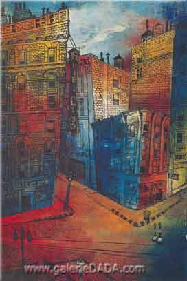 Enrique Grau, Broadway Fine Art Reproduction Oil Painting