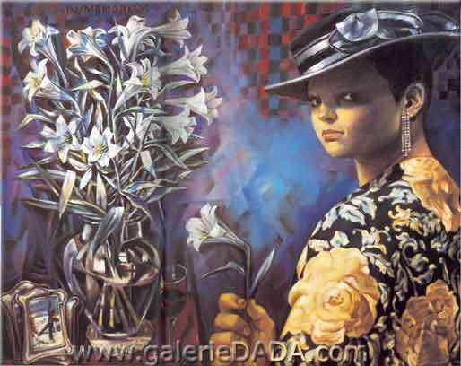 Enrique Grau, In Memoriam Fine Art Reproduction Oil Painting