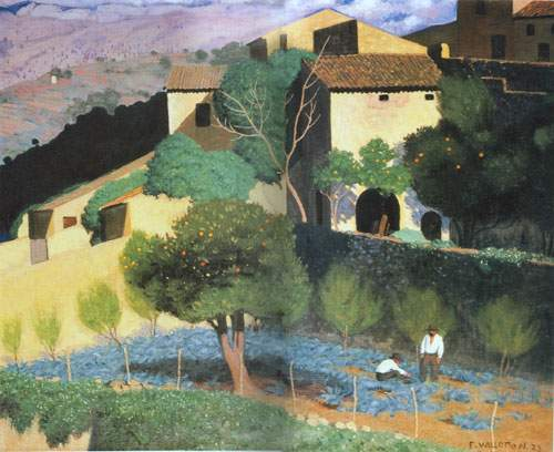 Cagnes - Felix Vallotton Art Reproduction | Galerie Dada