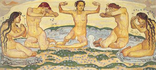 Ferdinand Hodler, Day I Fine Art Reproduction Oil Painting