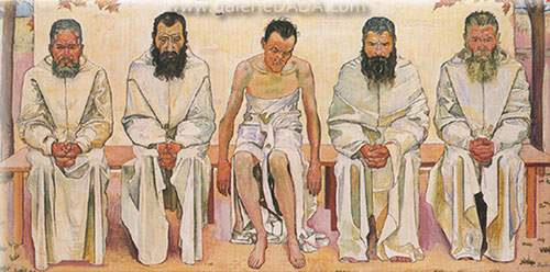 Ferdinand Hodler, Weary of Life Fine Art Reproduction Oil Painting