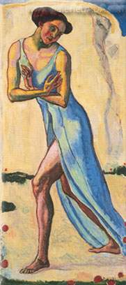 Ferdinand Hodler, Woman Walking Fine Art Reproduction Oil Painting