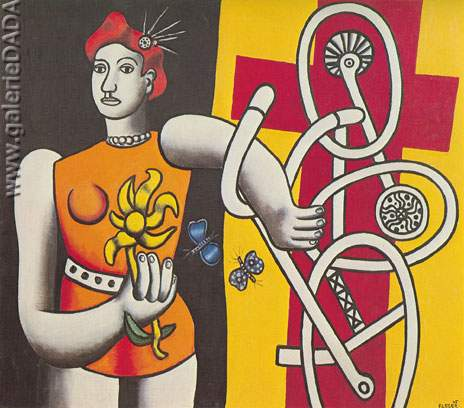 Fernand Leger, Big Julie Fine Art Reproduction Oil Painting