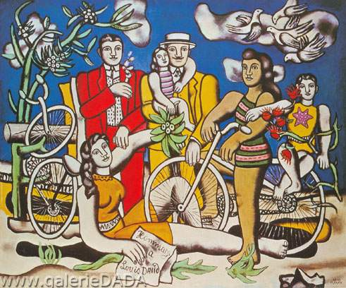 Fernand Leger, Les Loisirs Fine Art Reproduction Oil Painting