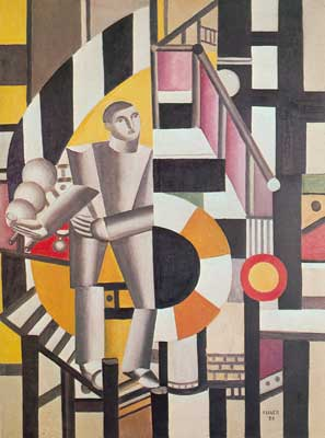 Fernand Leger, Man with a Pipe Fine Art Reproduction Oil Painting