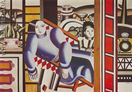 Fernand Leger, Mother and Child Fine Art Reproduction Oil Painting