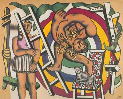 Fernand Leger, The Acrobat and his Partner Fine Art Reproduction Oil Painting