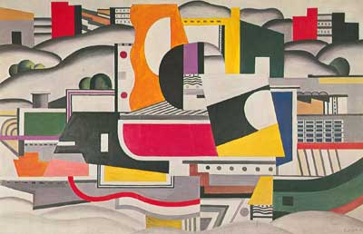 Fernand Leger, The Big Barge Fine Art Reproduction Oil Painting