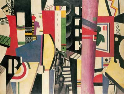 Fernand Leger, The City Fine Art Reproduction Oil Painting