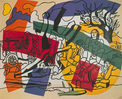 Fernand Leger, The Country Outing Fine Art Reproduction Oil Painting