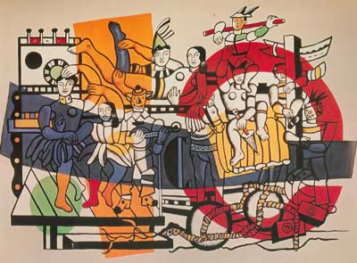 Fernand Leger, The Great Parade Fine Art Reproduction Oil Painting