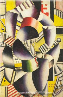 Fernand Leger, The Two Acrobats Fine Art Reproduction Oil Painting