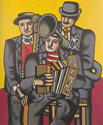 Fernand Leger, Three Musicians Fine Art Reproduction Oil Painting