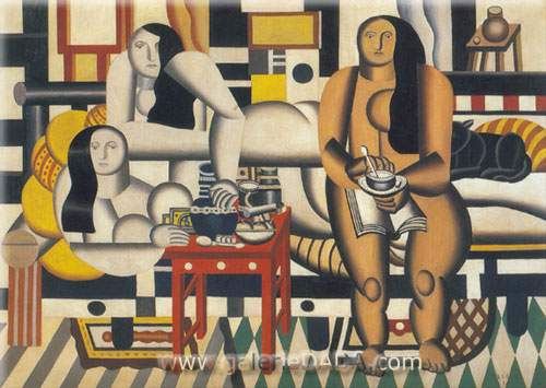 Fernand Leger, Three Women Fine Art Reproduction Oil Painting