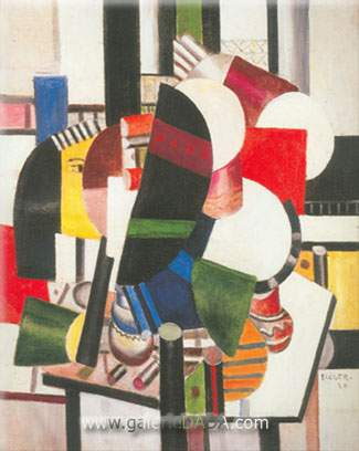 Fernand Leger, Women Making Up Fine Art Reproduction Oil Painting
