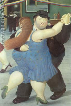 Fernando Botero, Dancers Fine Art Reproduction Oil Painting