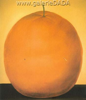 Fernando Botero, Orange Fine Art Reproduction Oil Painting