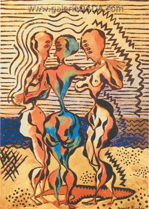 Francis Picabia, The Three Graces Fine Art Reproduction Oil Painting