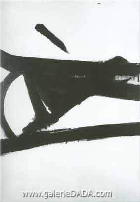 Franz Kline, Accent Grave Fine Art Reproduction Oil Painting