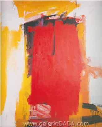 Franz Kline, Harley Red Fine Art Reproduction Oil Painting