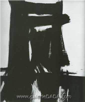 Franz Kline, Meryon Fine Art Reproduction Oil Painting