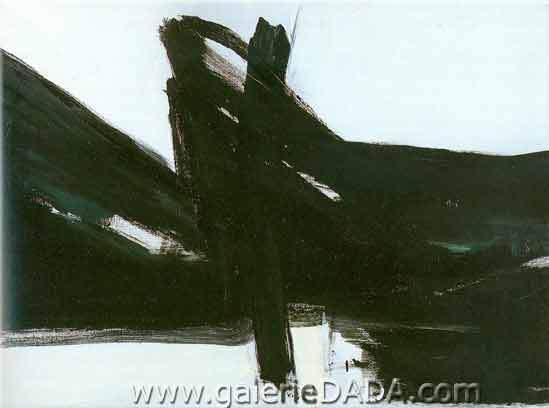 Franz Kline, Ravenna Fine Art Reproduction Oil Painting