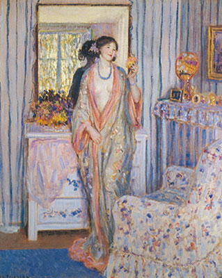 Frederick Frieseke, The Robe Fine Art Reproduction Oil Painting