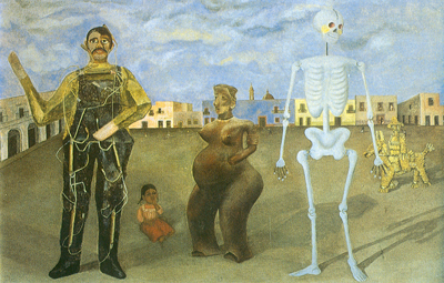 Frida Kahlo, Four Inhabitants of Mexico Fine Art Reproduction Oil Painting