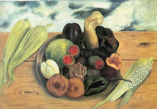 Frida Kahlo, Friuts of the Earth Fine Art Reproduction Oil Painting