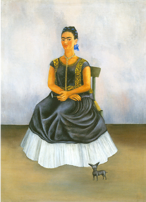 Frida Kahlo, Itzcuintli Dog with Me Fine Art Reproduction Oil Painting