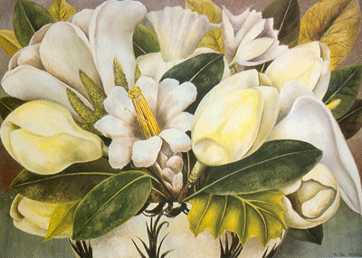 Frida Kahlo, Magnolias Fine Art Reproduction Oil Painting