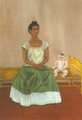 Frida Kahlo, Me and my Doll Fine Art Reproduction Oil Painting