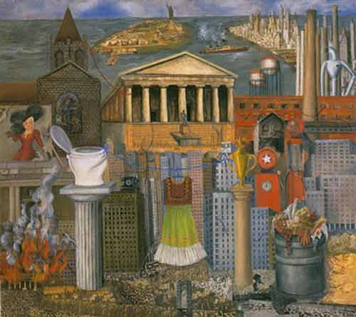 Frida Kahlo, My Dress Hangs There Fine Art Reproduction Oil Painting