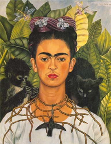 Frida Kahlo, Self-Portrait Fine Art Reproduction Oil Painting