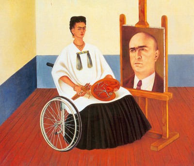 Frida Kahlo, Self-Portrait with Dr Farill Fine Art Reproduction Oil Painting