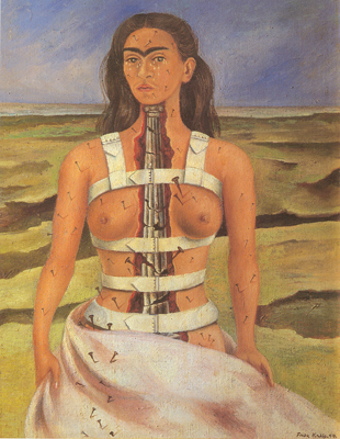 Frida Kahlo, The Broken Column Fine Art Reproduction Oil Painting