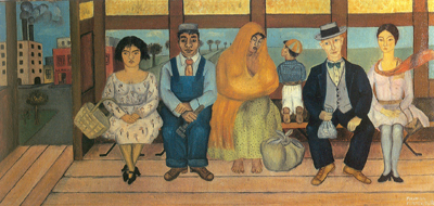 Frida Kahlo, The Bus Fine Art Reproduction Oil Painting
