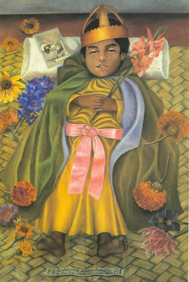 Frida Kahlo, The Deceased Dimas Fine Art Reproduction Oil Painting