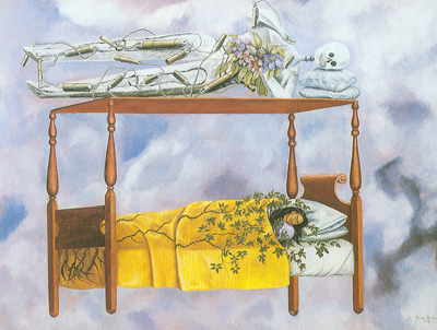 Frida Kahlo, The Dream Fine Art Reproduction Oil Painting