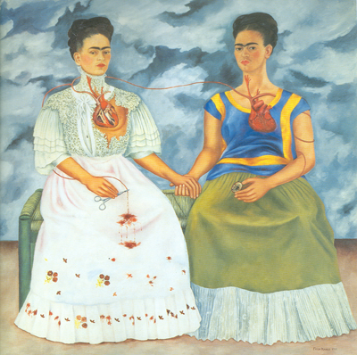 Frida Kahlo, The Two Fridas Fine Art Reproduction Oil Painting