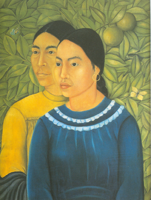 Frida Kahlo, Two Women Fine Art Reproduction Oil Painting