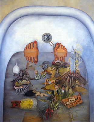 Frida Kahlo, What the Water Gave Me Fine Art Reproduction Oil Painting