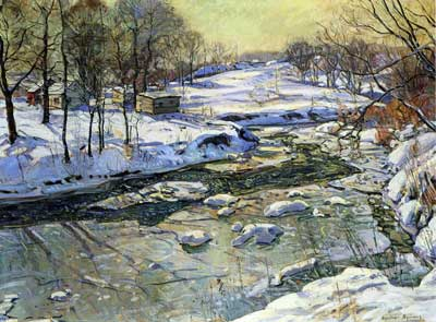 George Gardner Symons, Four Mile Creek Fine Art Reproduction Oil Painting
