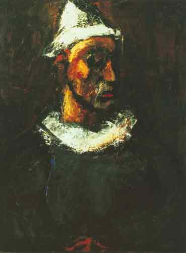 Georges Rouault, Clown Fine Art Reproduction Oil Painting