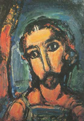 Georges Rouault, Head of Christ Fine Art Reproduction Oil Painting