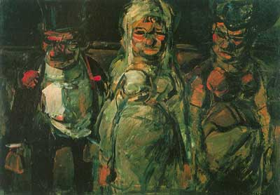 Georges Rouault, Pitch Ball Puppets Fine Art Reproduction Oil Painting