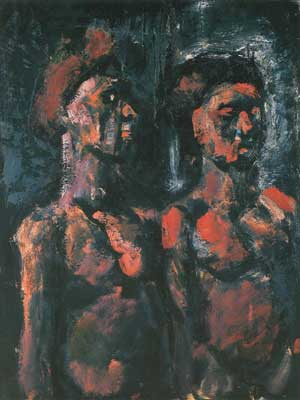 Georges Rouault, Prostitutes Fine Art Reproduction Oil Painting