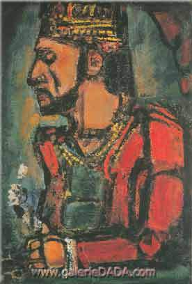 Georges Rouault, The Old King Fine Art Reproduction Oil Painting